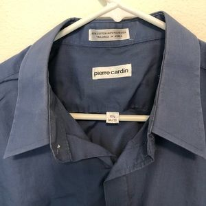 "Pierre Cardin 34/35 Men's Dress Shirt 17 1/2"""